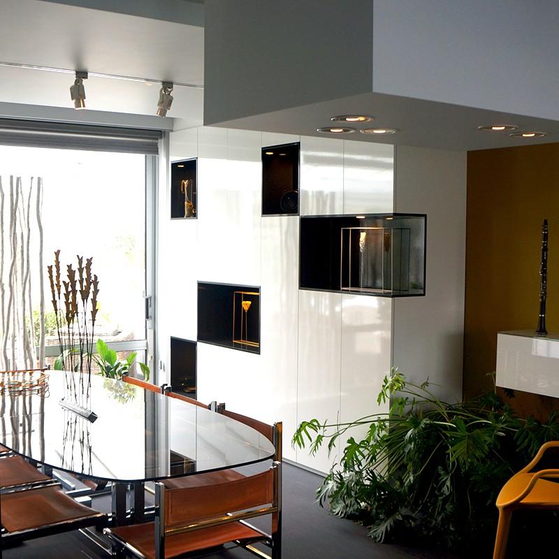 Meuble de rangement sur-mesure de salle à manger par MB Concept