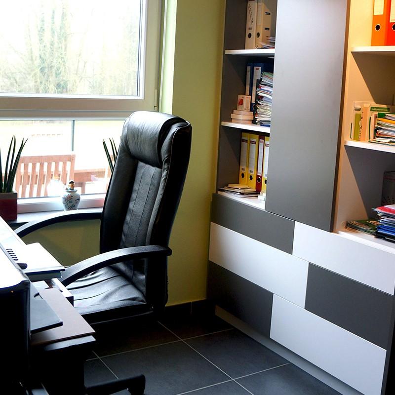 Meuble de bureau sur-mesure
