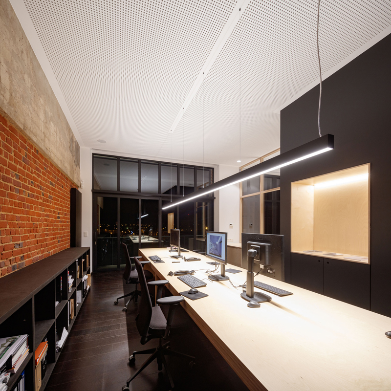 Aménagement d'un bureau d'architecture